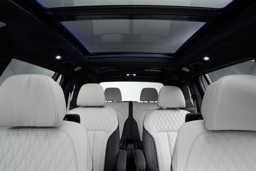 БМВ Х7 фото салона автомобиля
