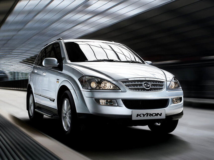 Машина саньенг фото